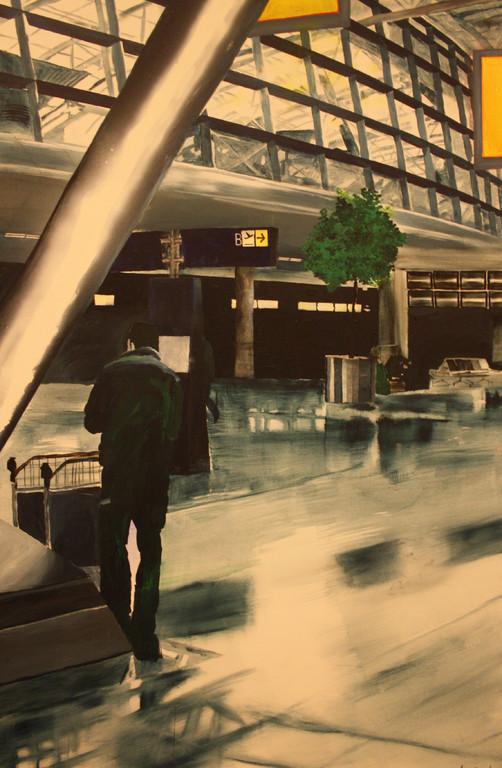 Light, Acryl/Lack auf Leinwand auf Leinwand, 2005/2011, 1,5 x 1 m