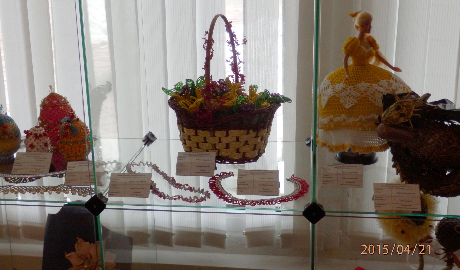 Работа Ксении Вяловой в музее