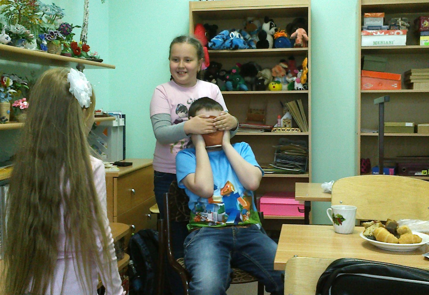 Дарина и Олег. Игровые моменты