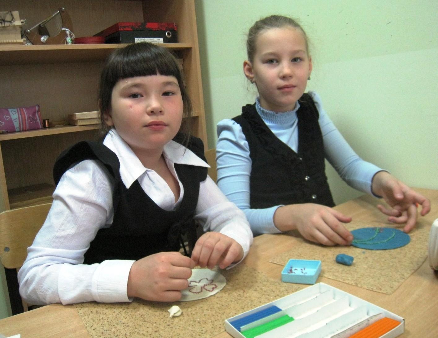 Алина и Полина