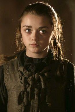Arya - hier noch in der Variante klein und unschuldig.