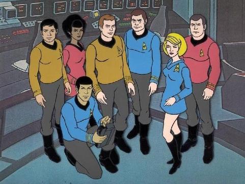 Captain, laut meinem Tricorder wurden wir durch Zeichentrickfiguren ersetzt. - Na, und? So schlank war ich schon lange nicht mehr.