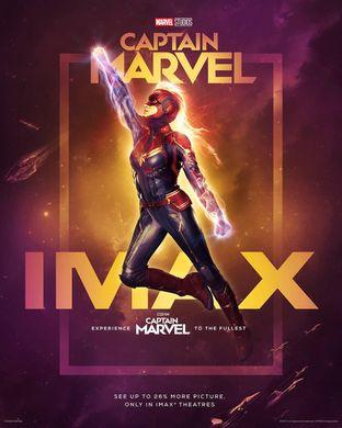 Captain Marvel bei der Arbeit