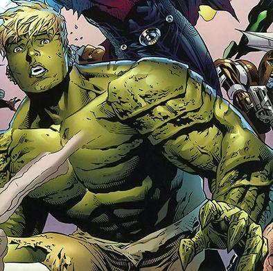 Oh, Gott, der Hulk! Nein, irgendwas ist anders. Warte, ich komm gleich drauf.