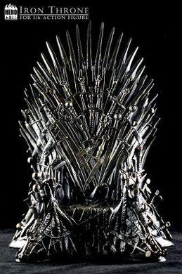 Valyrischer Stuhl, wie du wolltest. - Stahl, Schatz. Ich hatte Stahl gesagt.