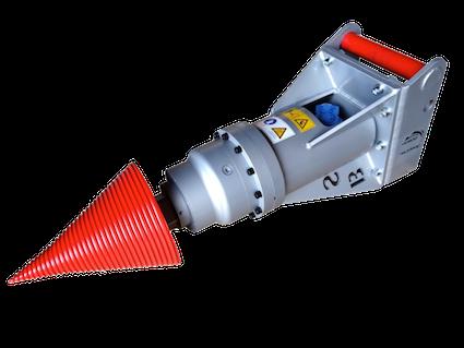 Black Splitter SB Kegelspalter / Holzspalter / Spalter / Planetengetriebe / Baggerzubehör / Bagger