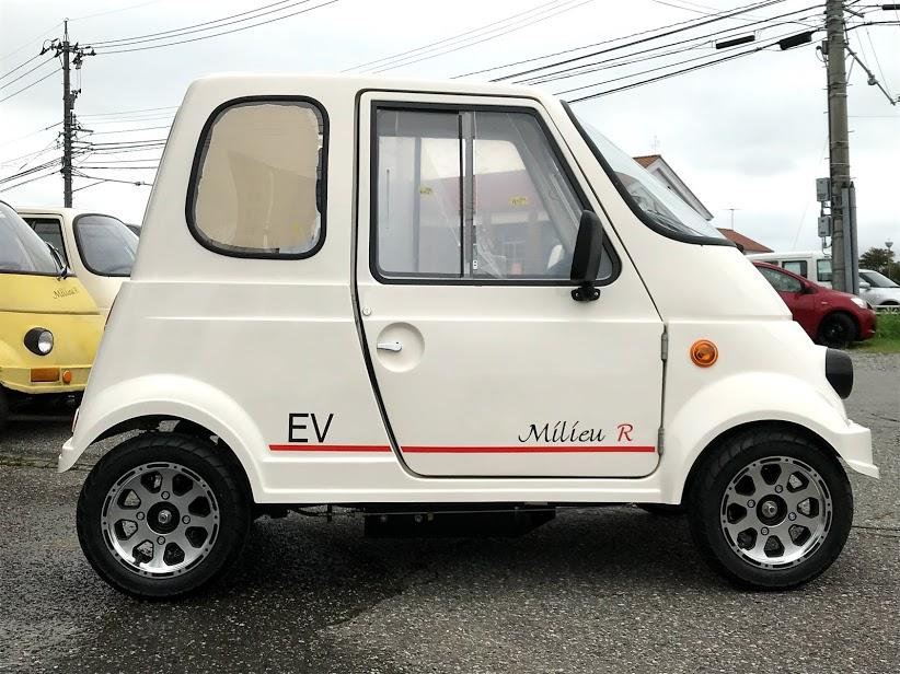 1人乗り電動ミニカー