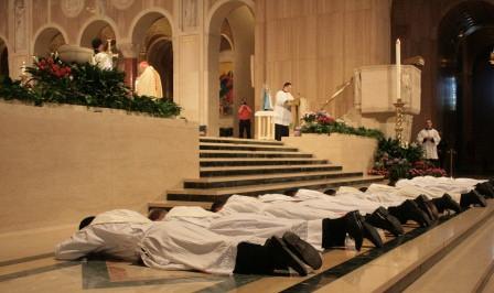 Ordenación sacerdotal del IVE en USA