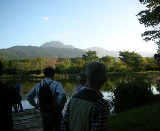九重ふるさと自然学校内散策