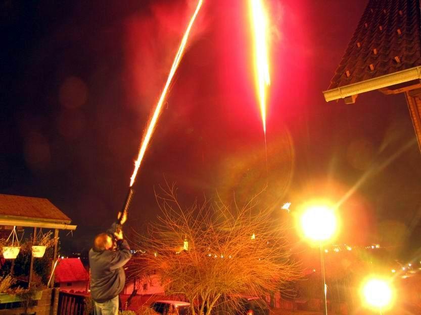 ...so begrüßt man das neue Jahr!