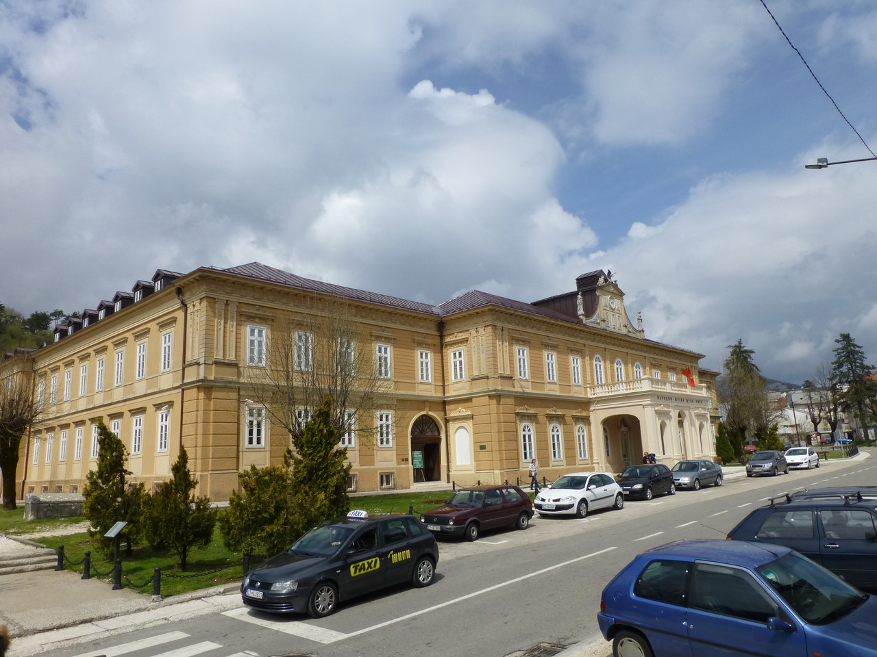 Cetinje frühere Hauptstadt von  Montenegro bis 1918