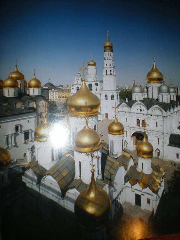 Die Kuppeln der Kreml - Kathedralen
