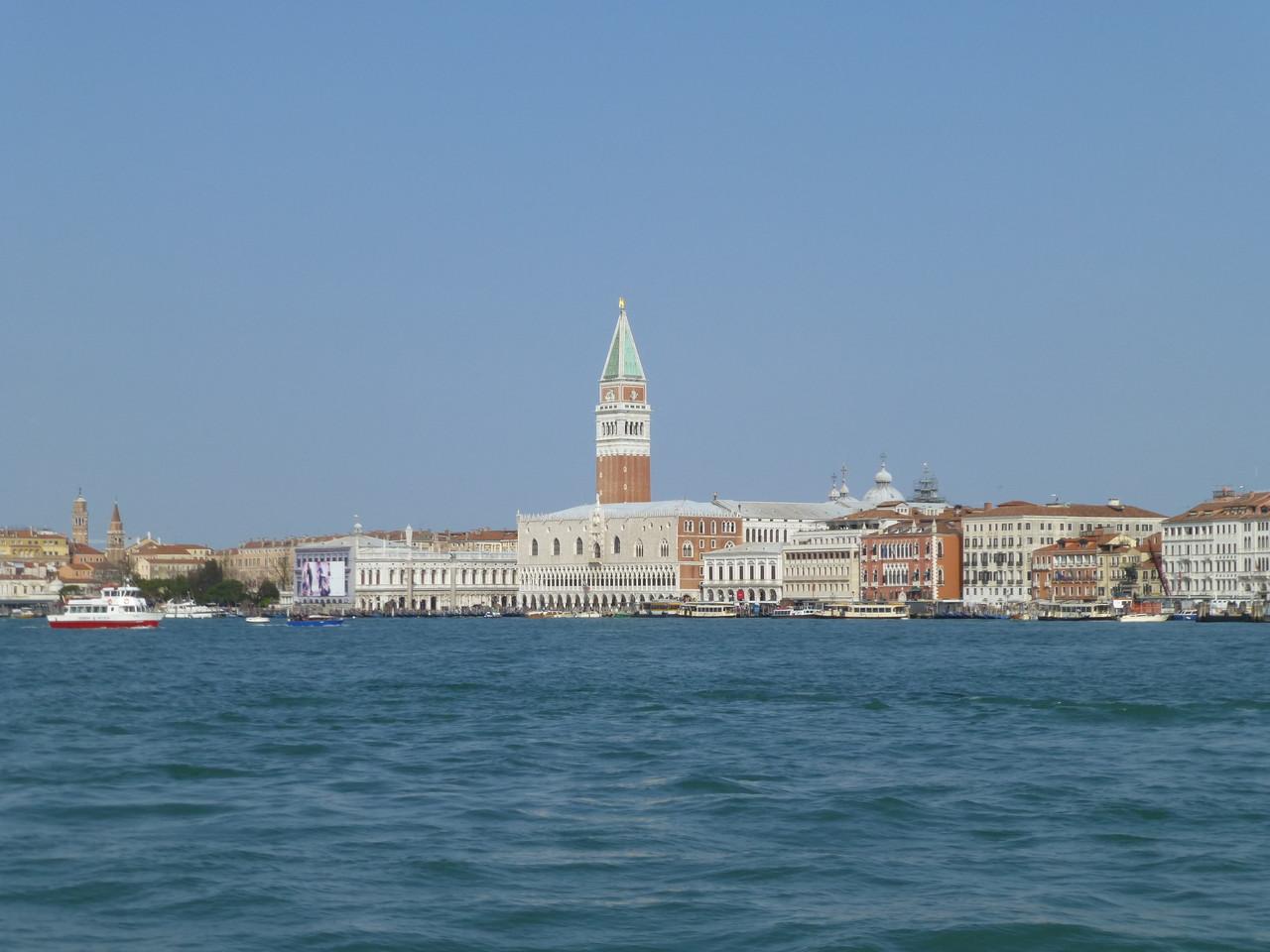 Venedig aus gesehen von Bunta Sabione