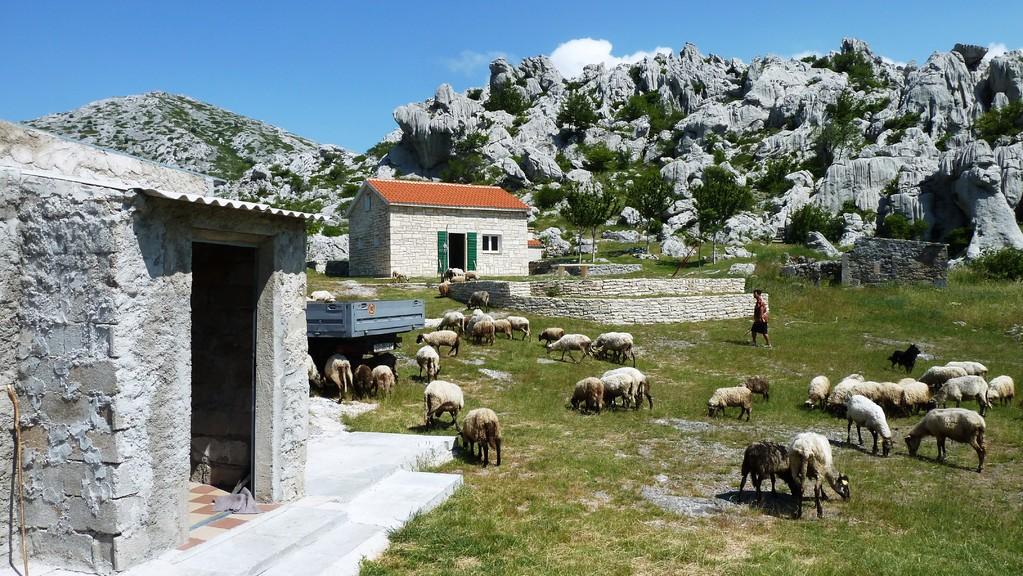 ...mit Hütte von Maria + Miele