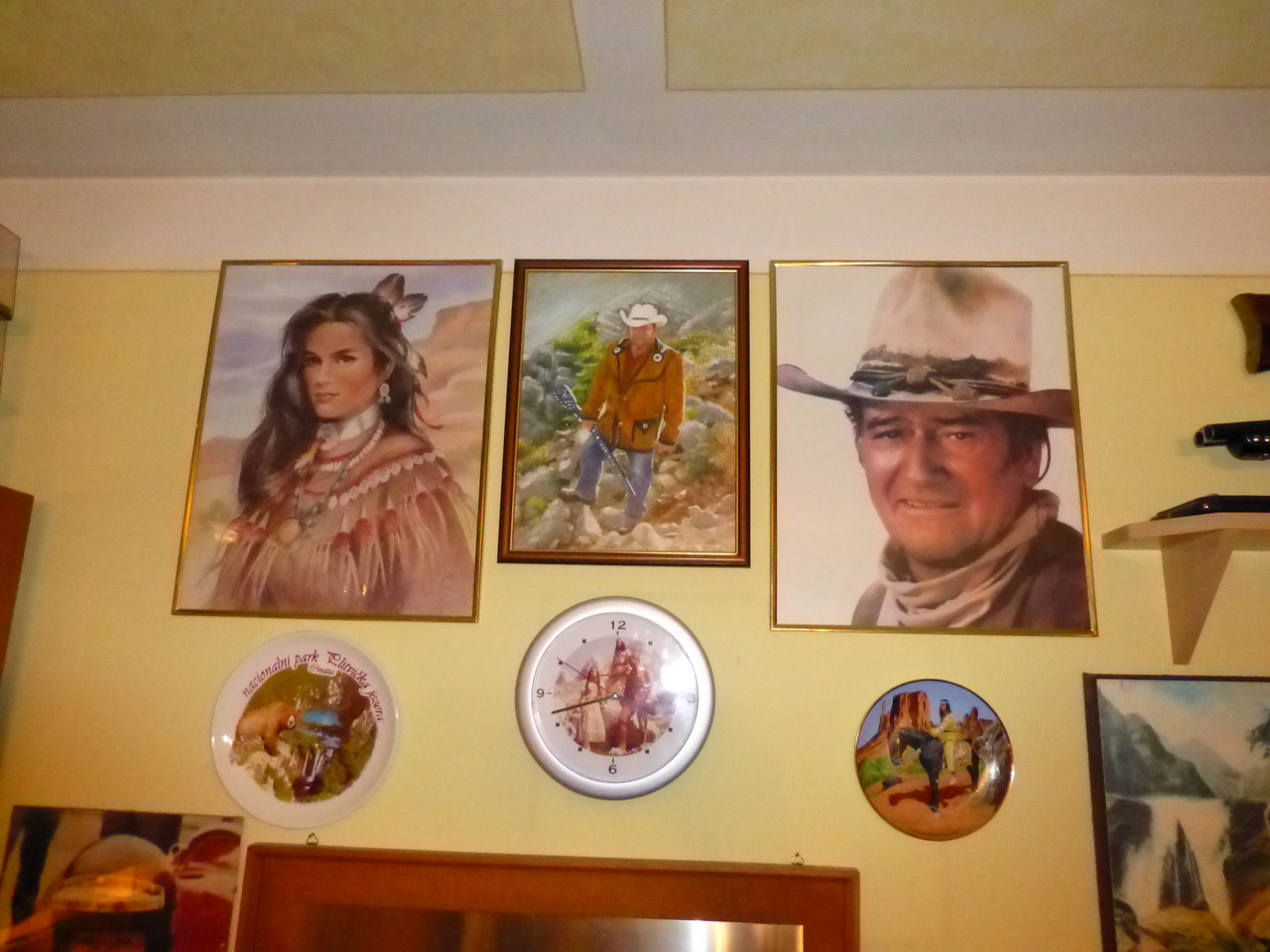 Kurt in der Mitte mit Legenden