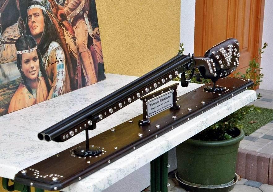 """die schönste von allen """"überagt die Orginale im Karl May Museum"""" Radebeul"""