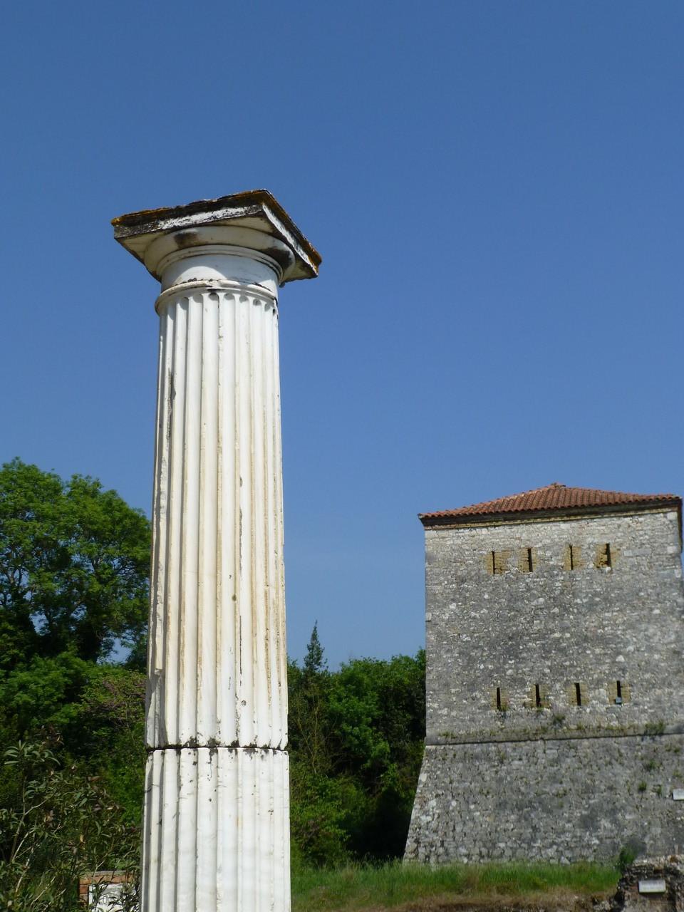 Butrint ganzh im Süden von Albaniem