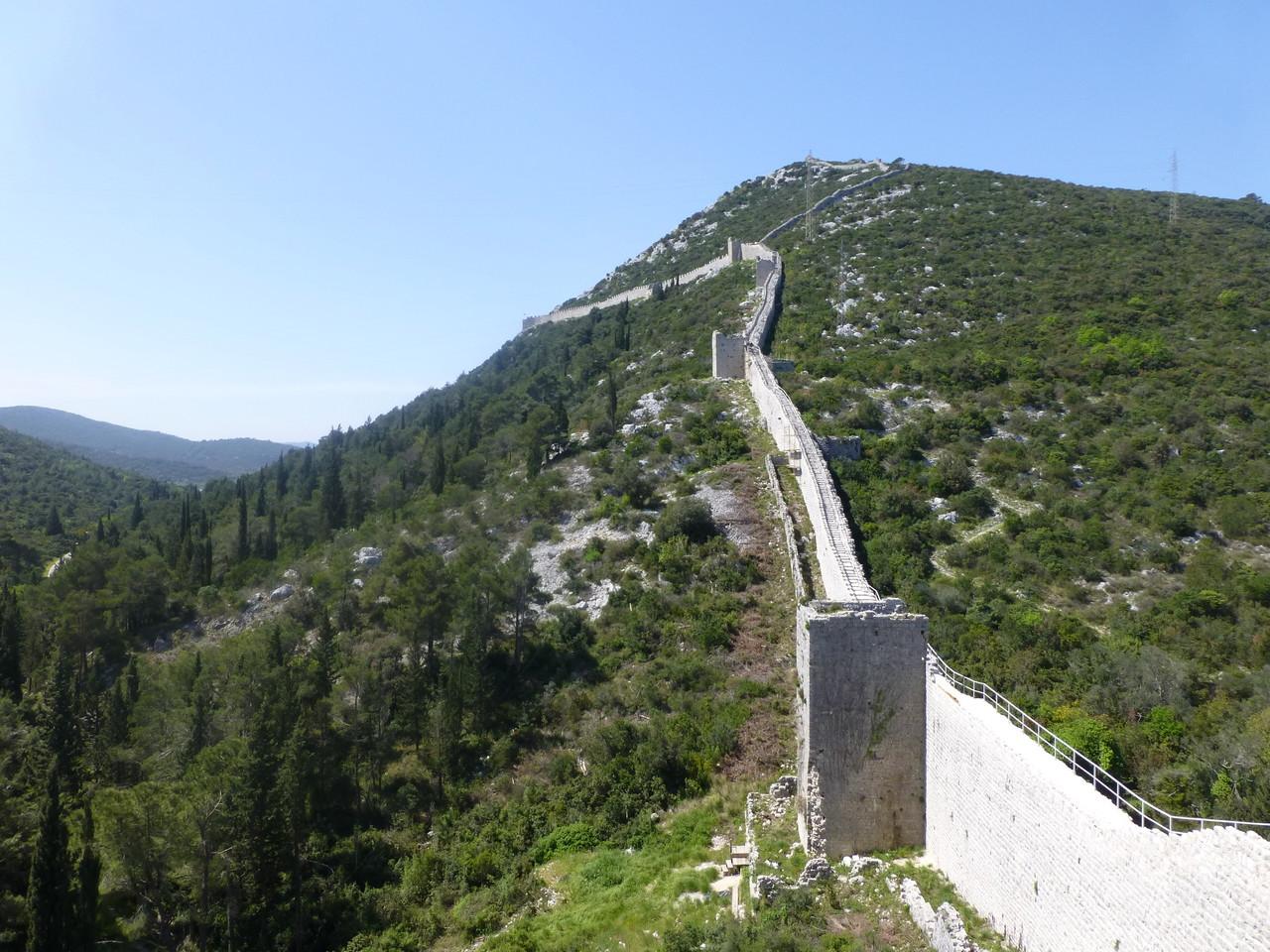 Ston die längste Befestigung Europas