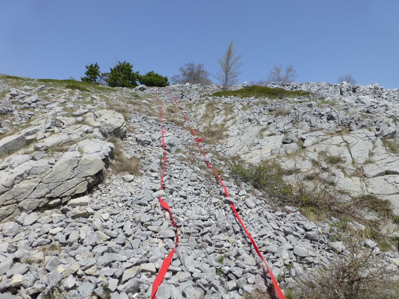 am Übergang zu Sveti Rok überall noch Minengefahr