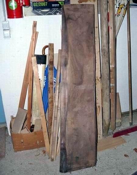 und das Holz?