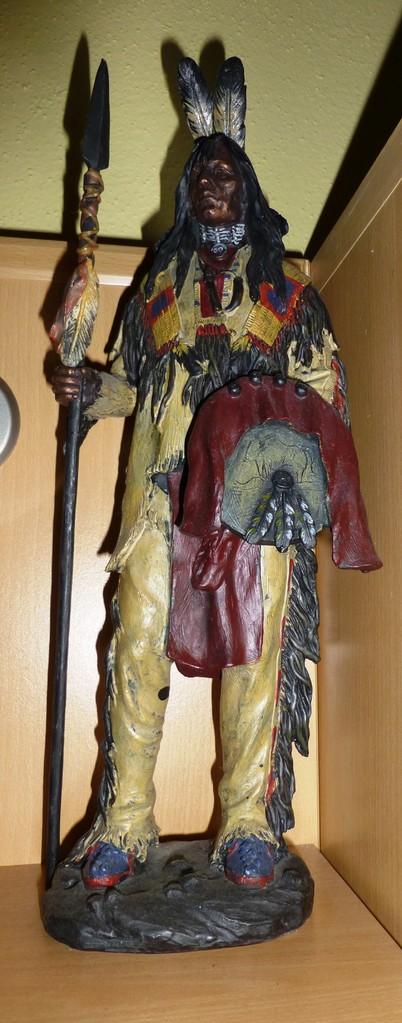 Wunderschöner Indianer - hat mir mein Sohn Thomas von den USA mitgebracht