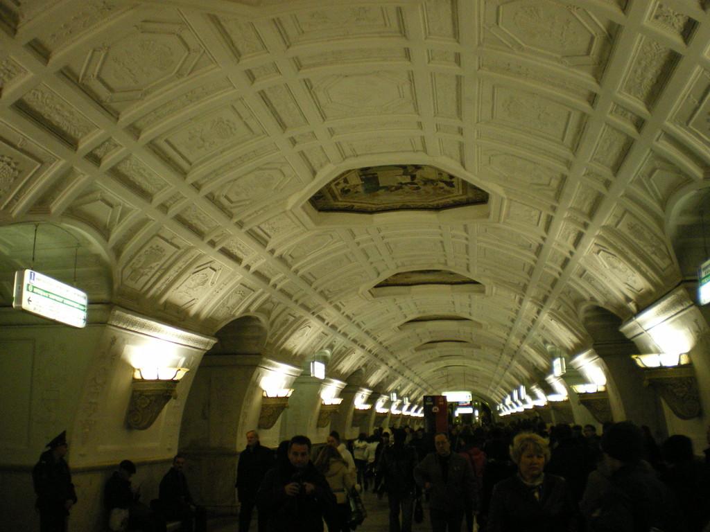 "die U - Bahn ein ""Kunstwerk"""