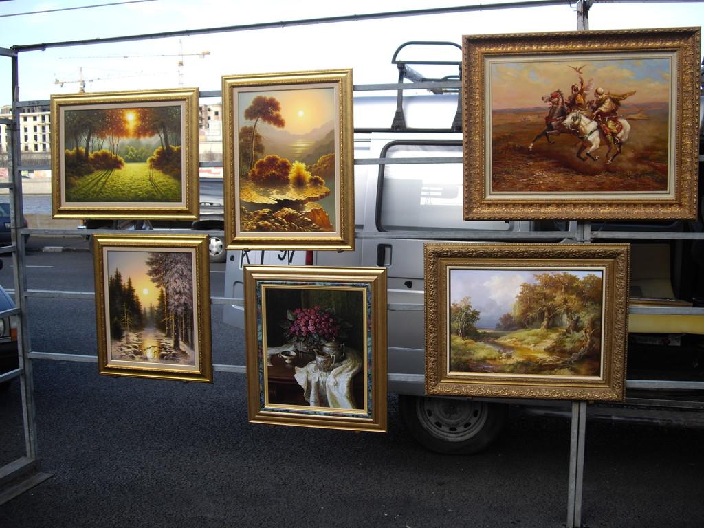 Kunstwerke überall