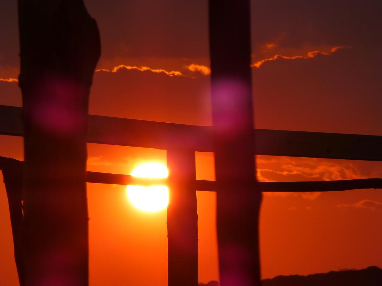 Sonnenuntergang in Ulcinj