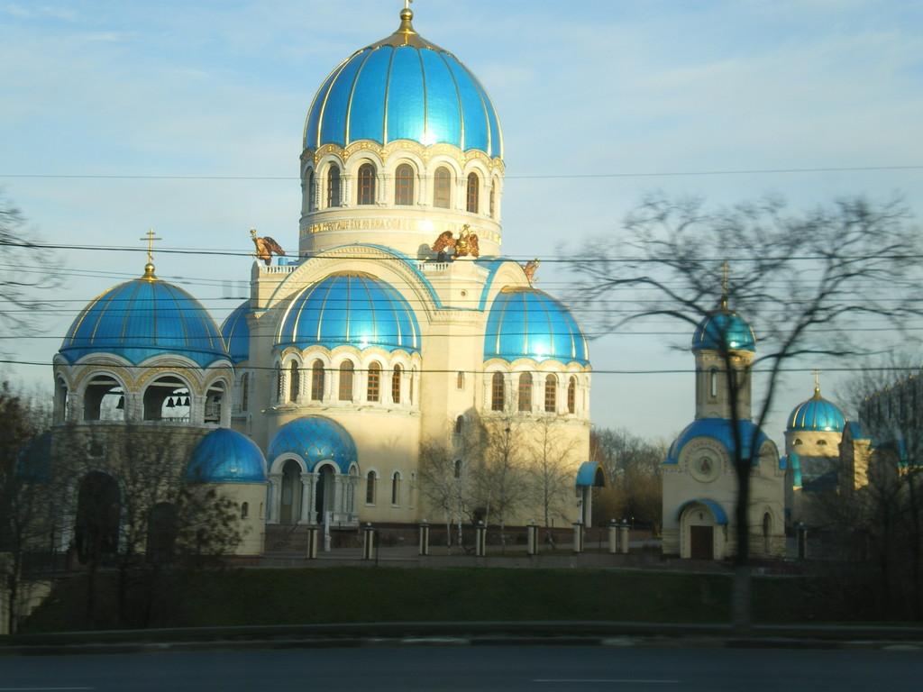 eine der vielen Kathedralen