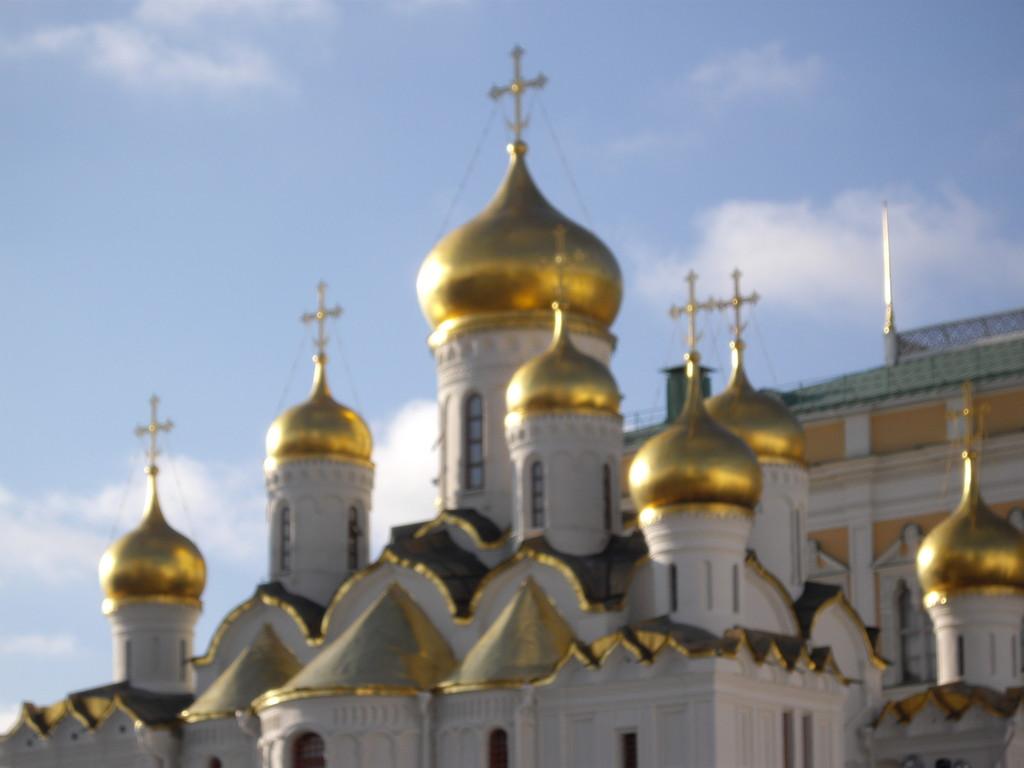 Kuppeln der Mariä Verkündigungskathedrale