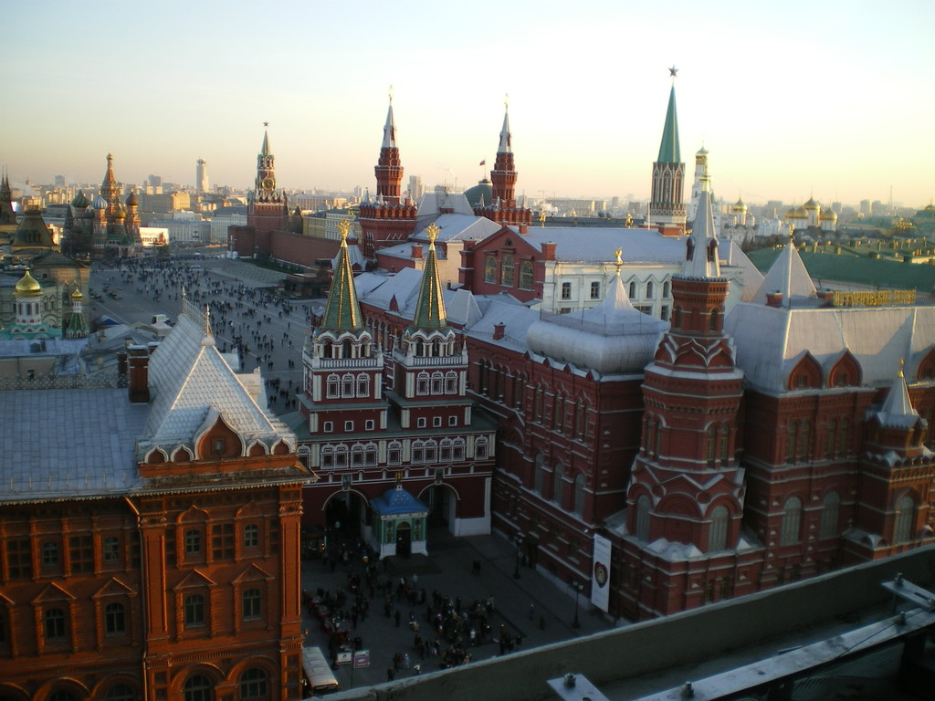 Himmelfahrtstor Eingang zum Roten Platz