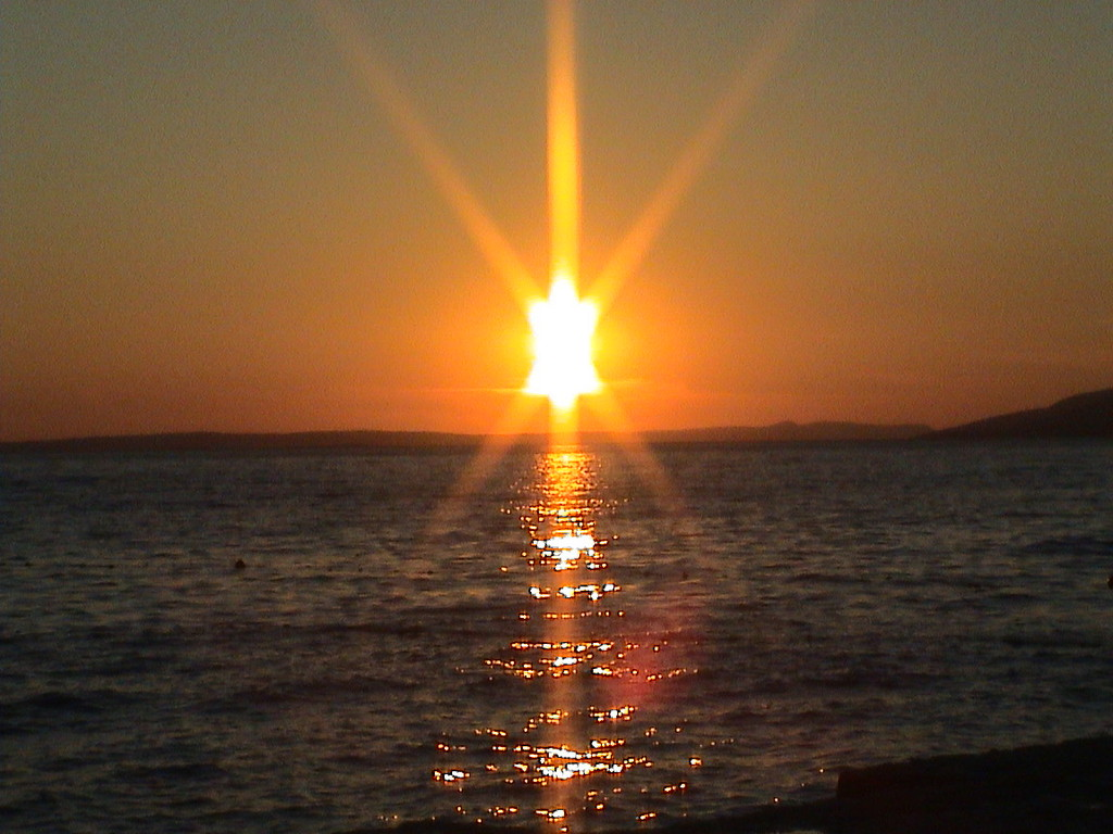 Sonnenuntergang Starigrad