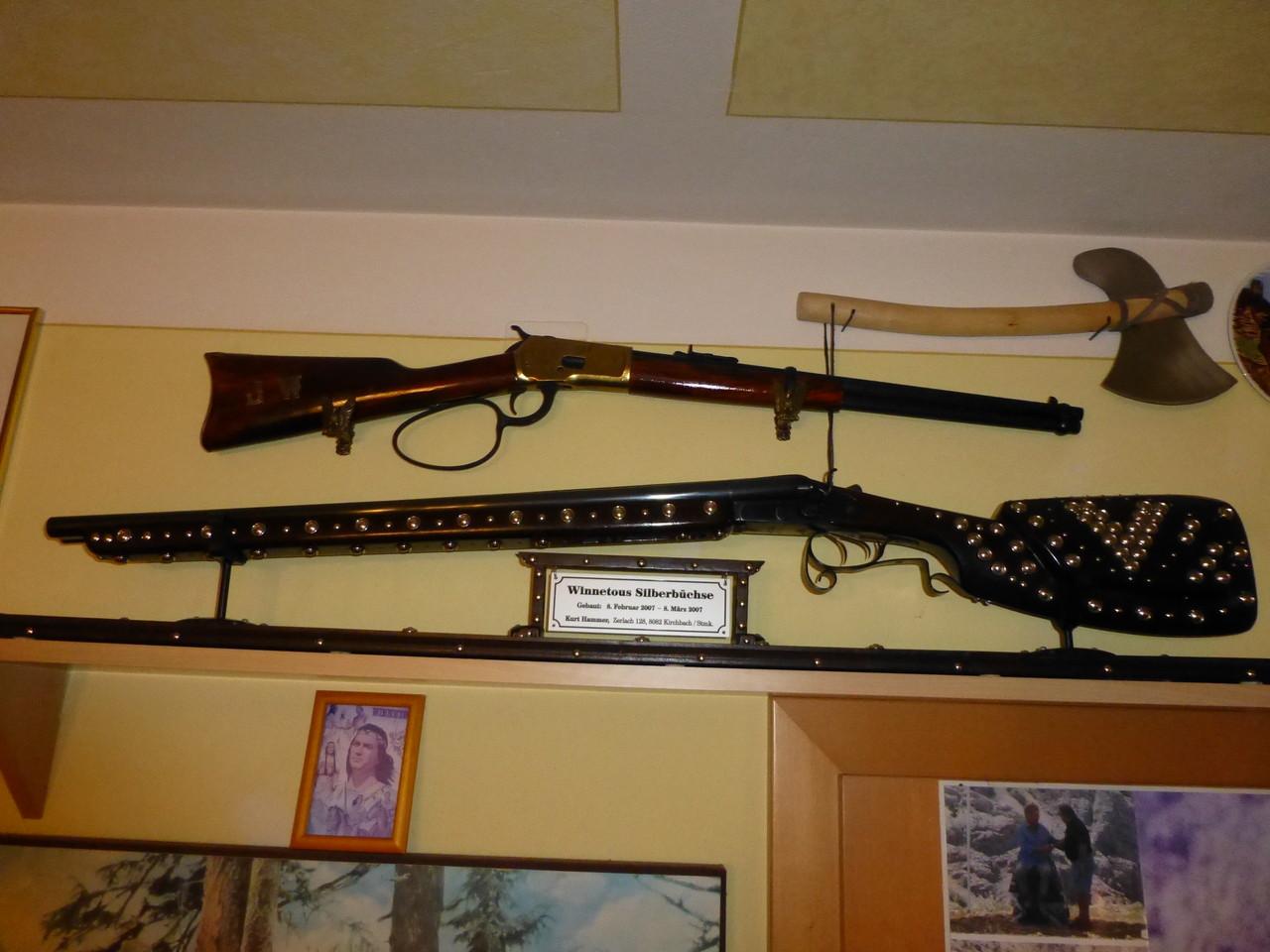 die zwei berühmtesten Waffen