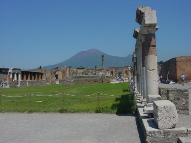 Ausgrabungen Pompeji der schreckliche Ausbruch des Vesuvs