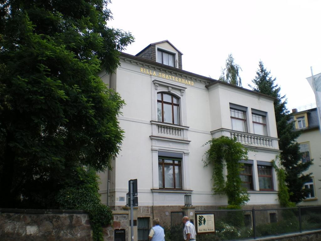 Villa Shatterhand, das Haus von Karl May