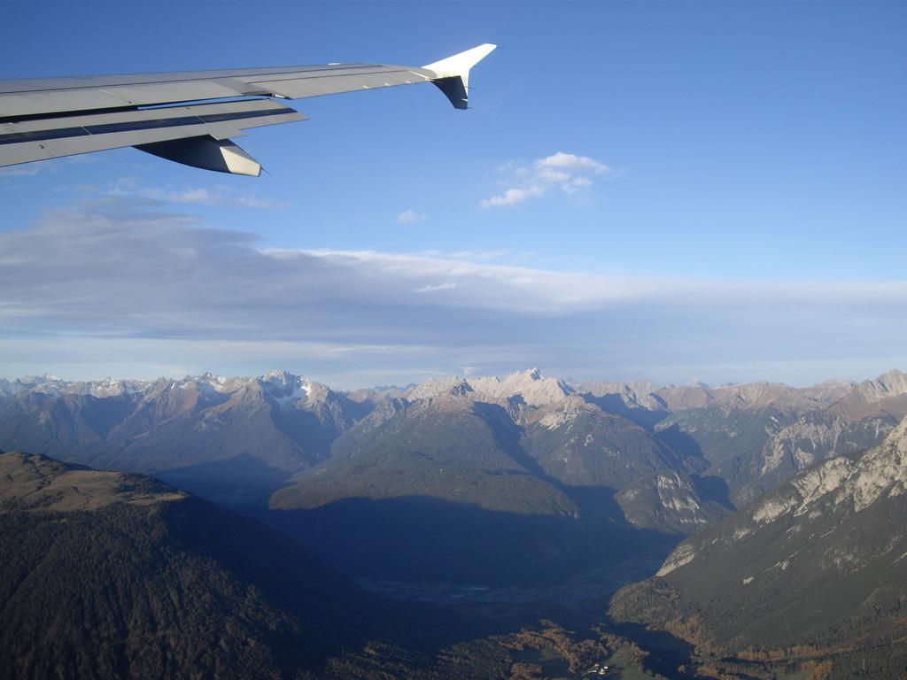 Start von Innsbruck über die Alpen