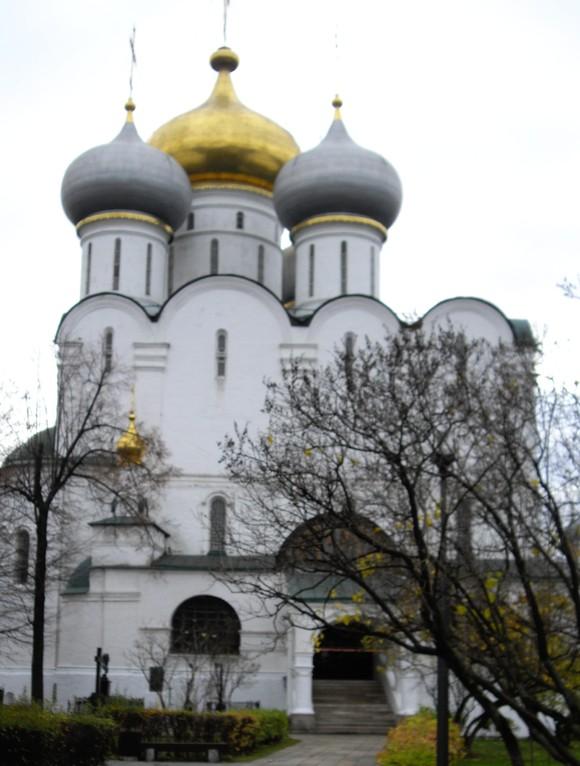 Neujungfrauen Kloster Kirche dr Ikone der Gottesmutter von Smolensk 1524-1525