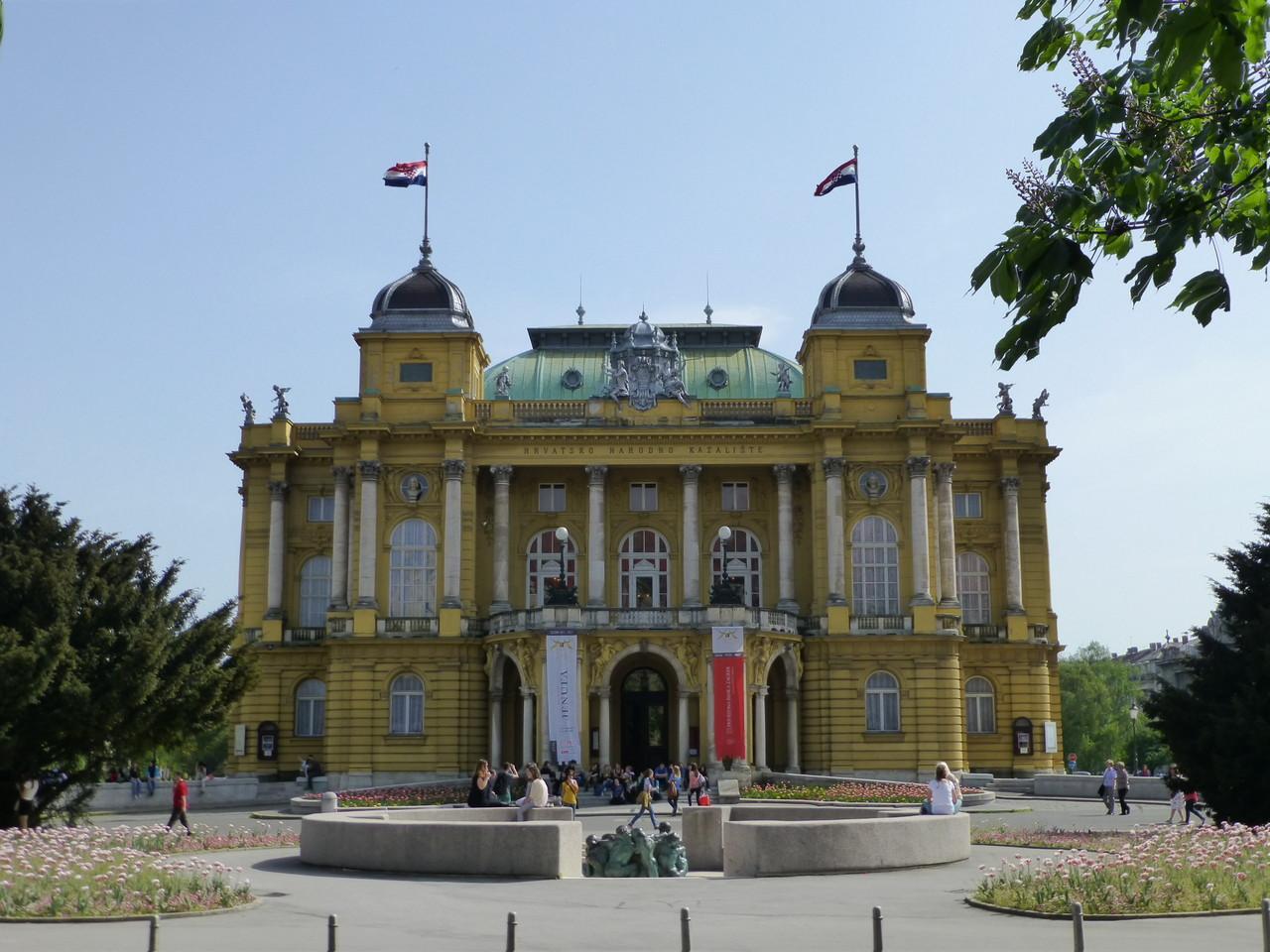 Zagreb die bezaubernde Hauptstadt von Kroatien