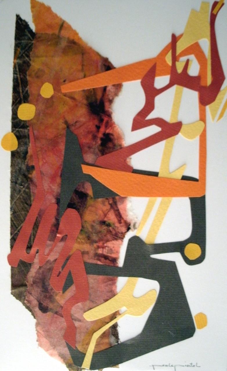 émergence-14, collage