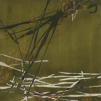 Untitled - 2018 - 50cm x 50cm - Oil/Lack on Canvas