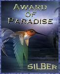 Paradise Award in SILBER