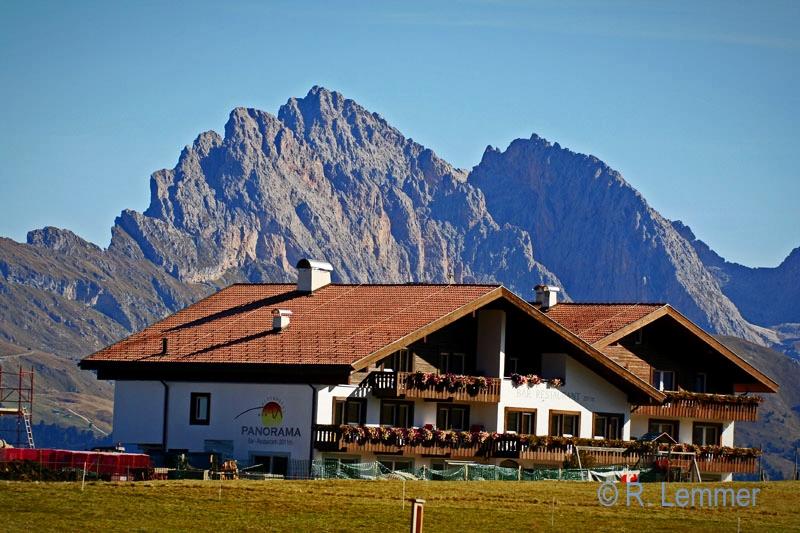 """Restaurant """"Panorama"""" auf der Seiser Alm"""