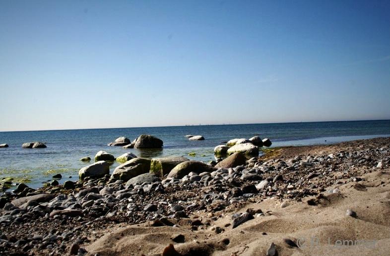 Møns Fyr - Der Strand