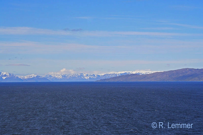 Fjord Landschaft bei Alta