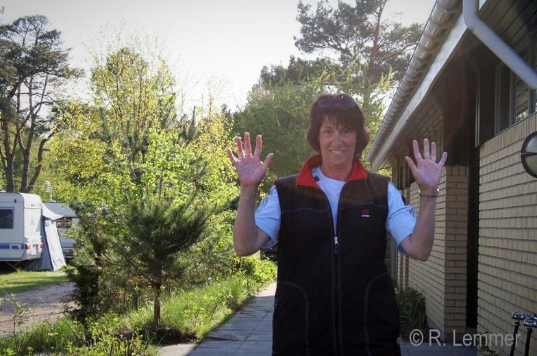 """Iris und ihre """"clean hands"""""""