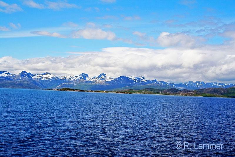 Küstenlandschaft der Lofoten