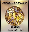 Pema Award in Bronze