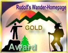 Rudolf's Wander Award in GOLD