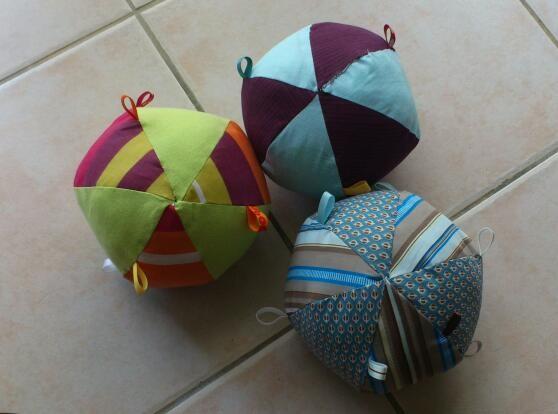 Balles de jeu pour les bébés