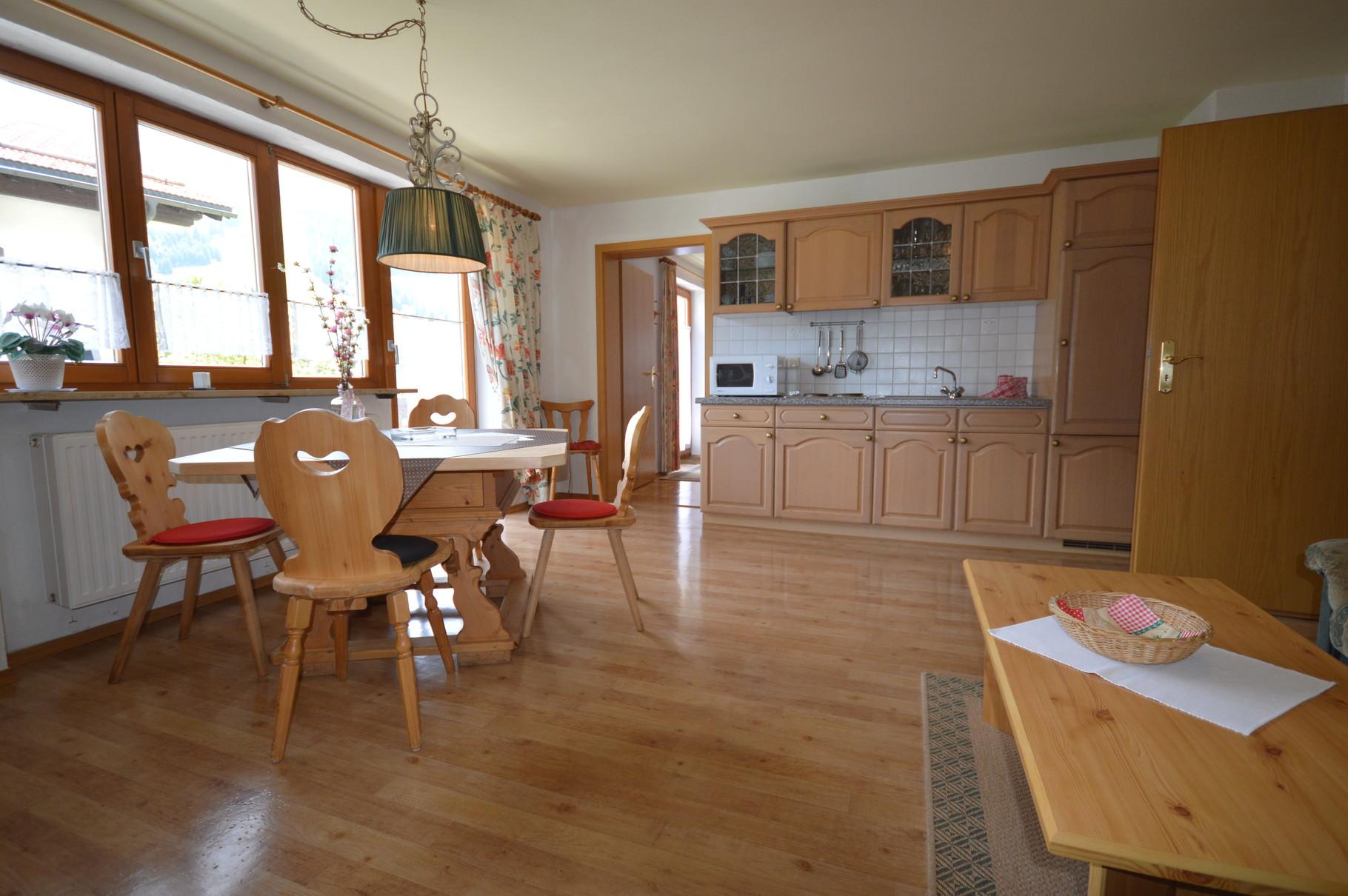 Wohnraum/Küche Wohnung Tirol